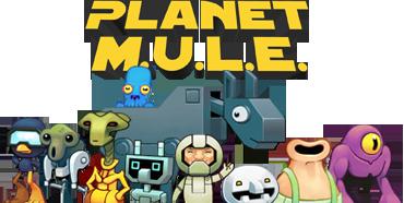Planet M.U.L.E. Logo